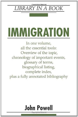 Immigration (Library in a Book) (9780816062348) by Powell, John