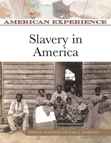 9780816062416: Slavery in America (American Experience)