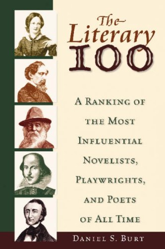 9780816062683: Literary 100: A Ranking of the Most Influential Novelists, Playwrights, and Poets of All Time