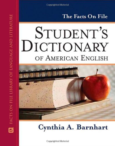 9780816063796: The Facts on File Student's Dictionary of American English (Facts on File Writer's Library)