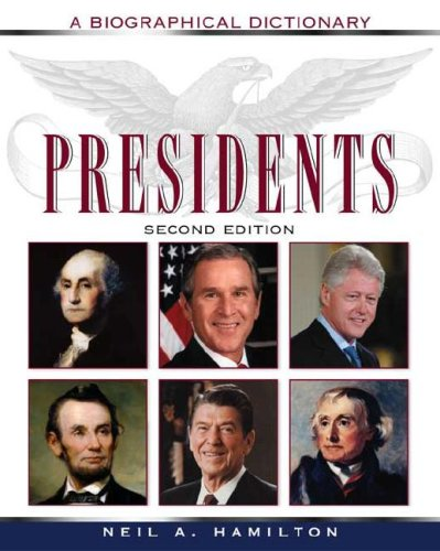 9780816064243: Presidents: A Biographical Dictionary (Political Biographies)