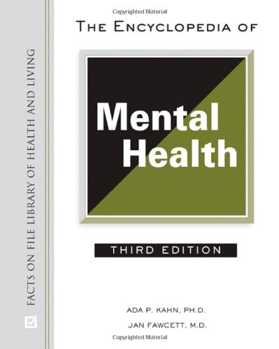 9780816064540: The Encyclopedia of Mental Health (Facts on File Library of Health & Living)