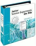 9780816064588: Junior Science Experiments on File: v. 4