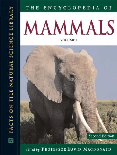 9780816064946: The Encyclopedia of Mammals (Facts on File Natural Science Library)(3 Volume Set)