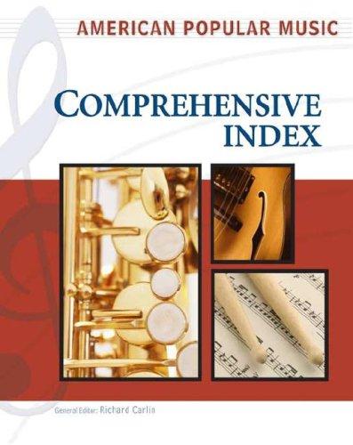 American Popular Music: Comprehensive Index