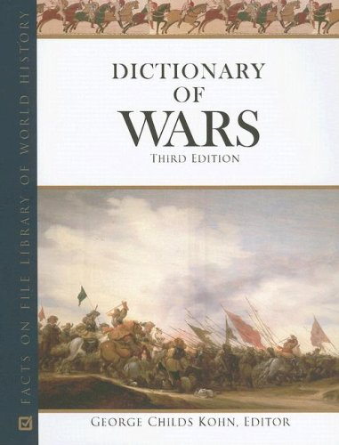9780816065776: Dictionary of Wars