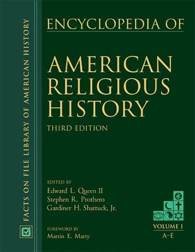 9780816066605: Encyclopedia of American Religious History third edition (Vol 1-3)