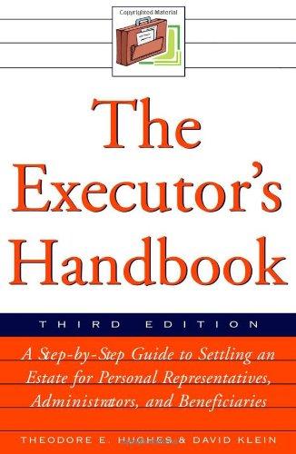 9780816066674: The Executor's Handbook