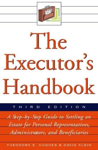 9780816066681: The Executor's Handbook