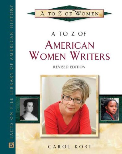 9780816066933: A to Z of American Women Writers