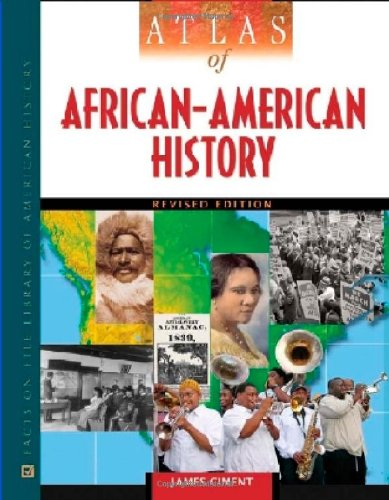 9780816067138: Atlas of African-American History (Facts on File Library of American History)