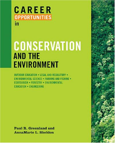 9780816067435: Career Opportunities in Conservation and the Environment