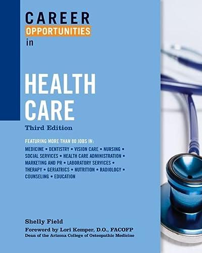 9780816068296: Career Opportunities in Health Care (Career Opportunities (Paperback))