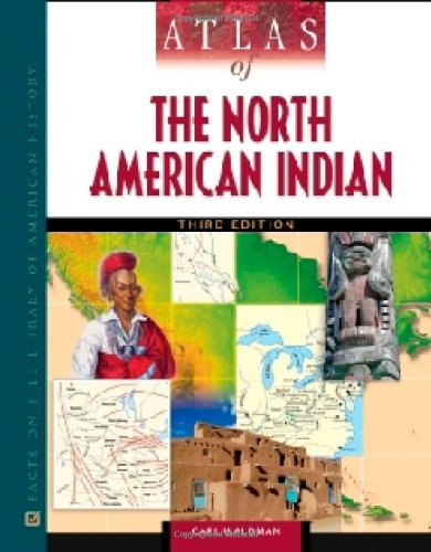 9780816068586: Atlas of the North American Indian (Facts on File Library of American Literature)