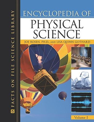 Encyclopedia of Physical Science (Facts on File: Rosen, Joe, Gothard,