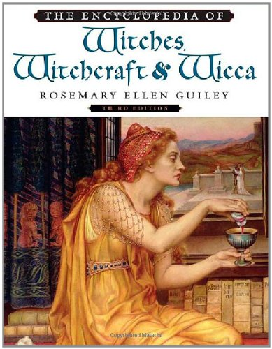 9780816071036: The Encyclopedia of Witches, Witchcraft, and Wicca