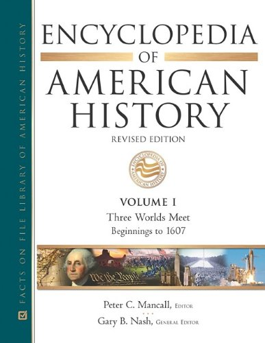 Encyclopedia of American History: Mancall, Peter C.