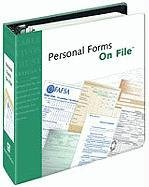 Personal Forms on File, 2007 (081607190X) by Inc. Facts on File