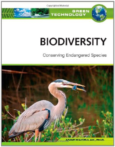 9780816071975: Biodiversity: Conserving Endangered Species (Green Technology)