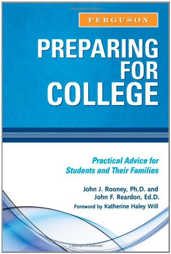 9780816073788: Preparing for College: Practical Advice for Students and Their Families