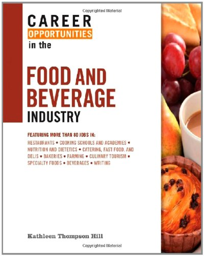 9780816076123: Career Opportunities in the Food and Beverage Industry