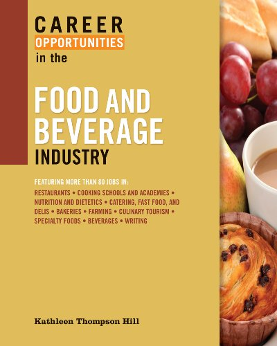 9780816076130: Career Opportunities in the Food and Beverage Industry