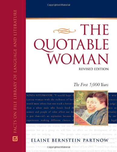 9780816077250: The Quotable Woman: The First 5,000 Years