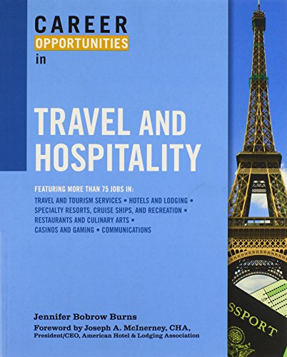 9780816077328: Career Opportunities in Travel and Hospitality