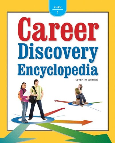 Career Discovery Encyclopedia, 7th Edition, 8 Vol. Set: Laurie Likoff