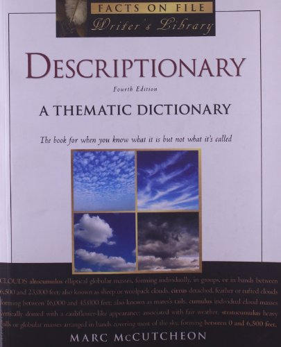 9780816079476: Descriptionary: A Thematic Dictionary (Writers Library)