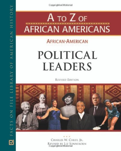 African-American Political Leaders (Hardback): Facts on File
