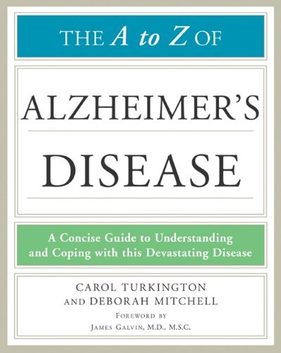 9780816081271: The a to Z of Alzheimer's Disease (Library of Health and Living)