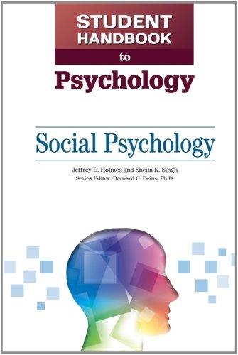 Social Psychology (Student Handbook to Psychology): Holmes, Jeffrey D,