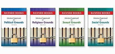 Banned Books Set, 4-Volumes: Literature Suppressed on Political, Religious, Sexual and Social ...