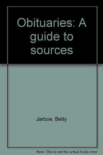 9780816103966: Obituaries: A guide to sources
