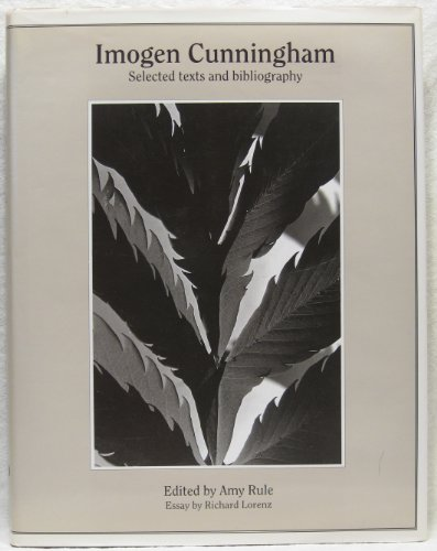 9780816105755: Imogen Cunningham: Selected Texts and Bibliography (World Photographs Reference, Vol 2)
