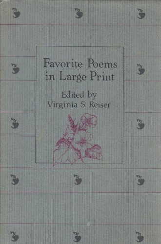 9780816131600: Favorite Poems in Large Print