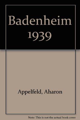 9780816132096: Badenheim 1939