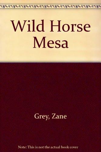 9780816132393: Wild Horse Mesa