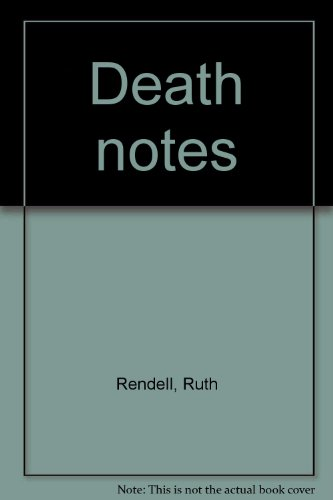 9780816133352: Death notes