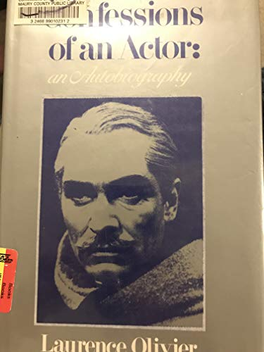 9780816135578: Confessions of an actor: An autobiography