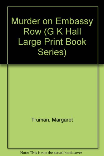 9780816137275: Murder on Embassy Row: A Novel (G K Hall Large Print Book Series)
