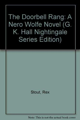 9780816137954: The Doorbell Rang: A Nero Wolfe Novel (G. K. Hall Nightingale Series Edition)
