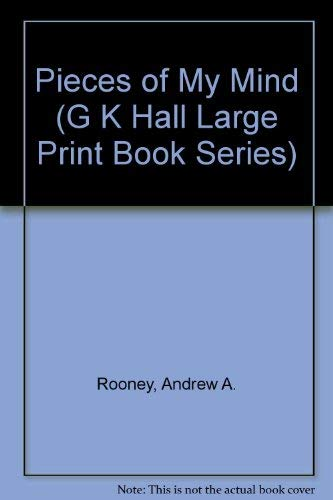 9780816138029: Pieces of My Mind (G K Hall Large Print Book Series)
