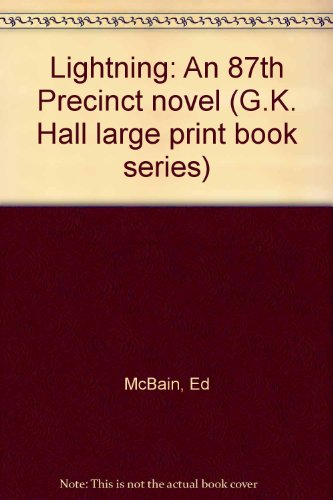 9780816138296: Lightning: An 87th Precinct novel (G.K. Hall large print book series)