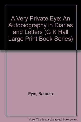 9780816138432: A Very Private Eye: An Autobiography in Diaries and Letters (G K Hall Large Print Book Series)