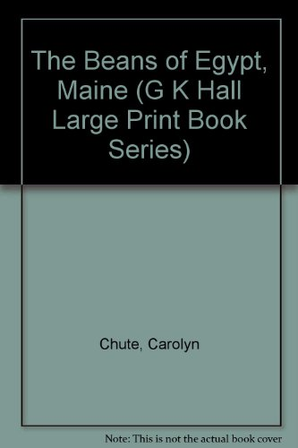 9780816139569: The Beans of Egypt, Maine (G K Hall Large Print Book Series)
