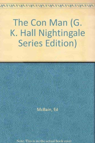 9780816139828: The Con Man (G. K. Hall Nightingale Series Edition)