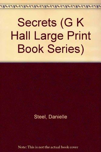 9780816140138: Secrets (G K Hall Large Print Book Series)