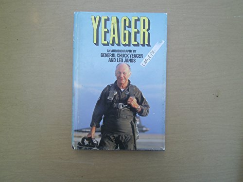 9780816140237: Yeager: An Autobiography (G K Hall Large Print Book Series)
